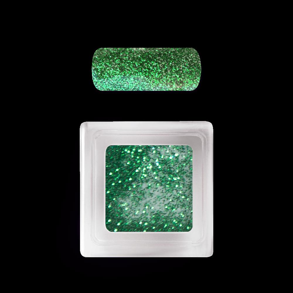 カラーアクリルパウダー Colour Acrylic Powder No. 108 Green Shimmer