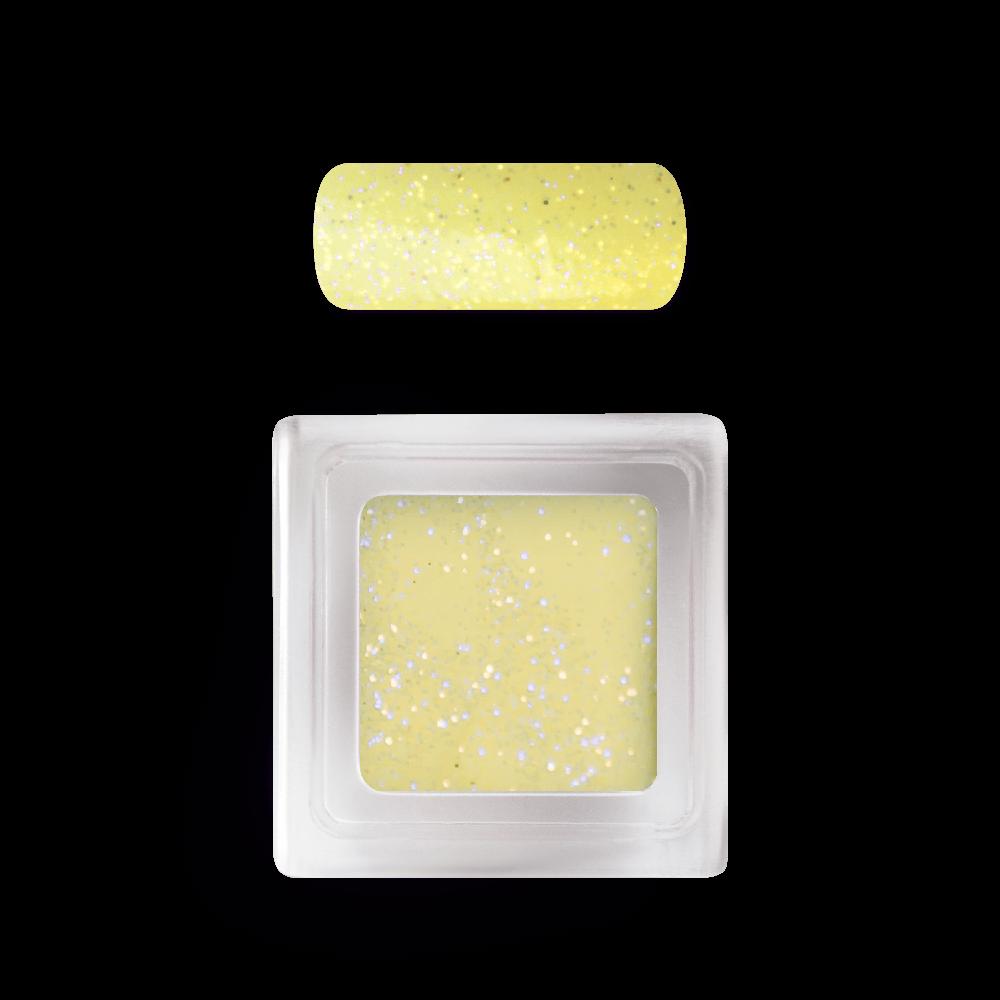 カラーアクリルパウダー Colour Acrylic Powder No. 113 Glitter Yellow
