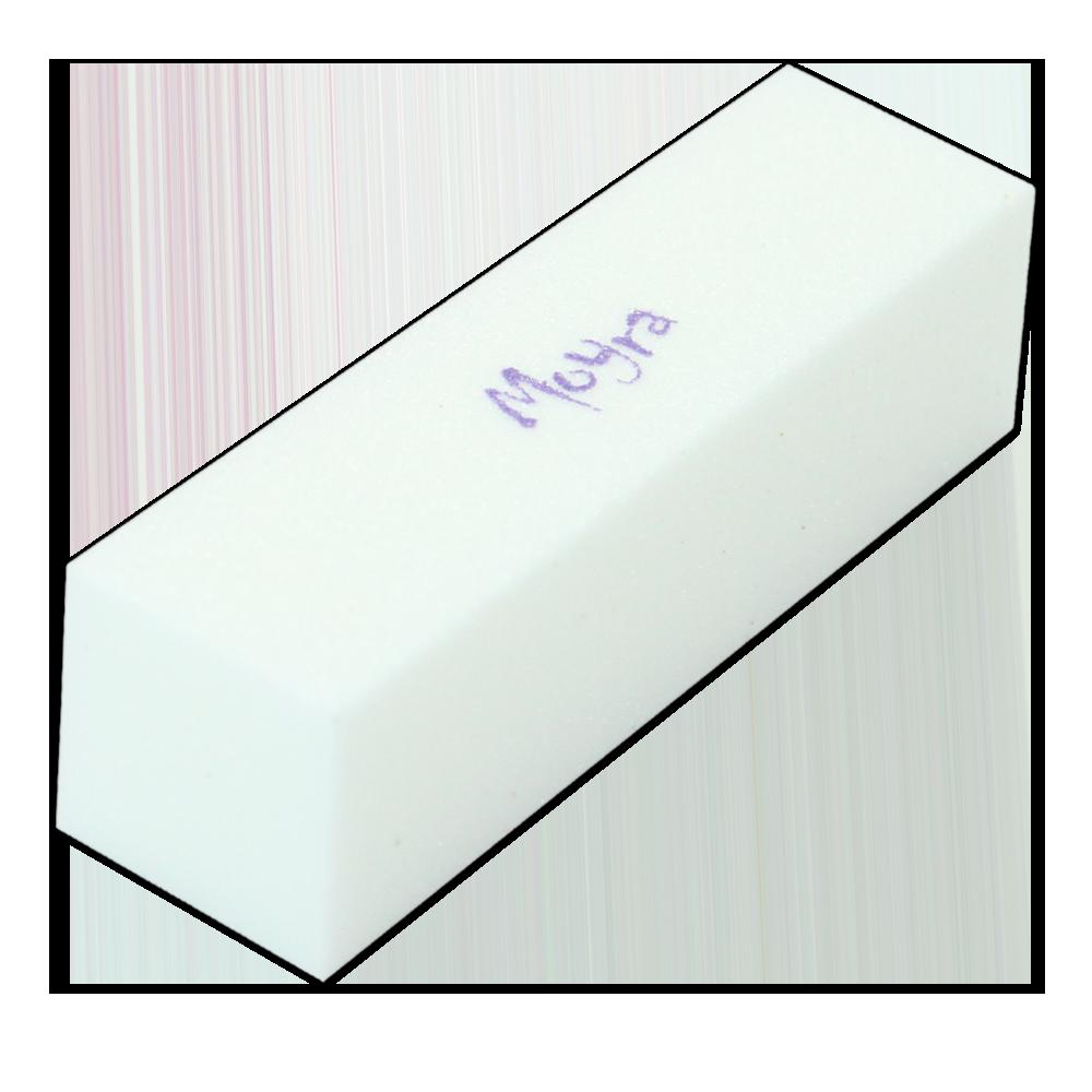 F33 白色ブロックバッファー White Coloured Block Buffer
