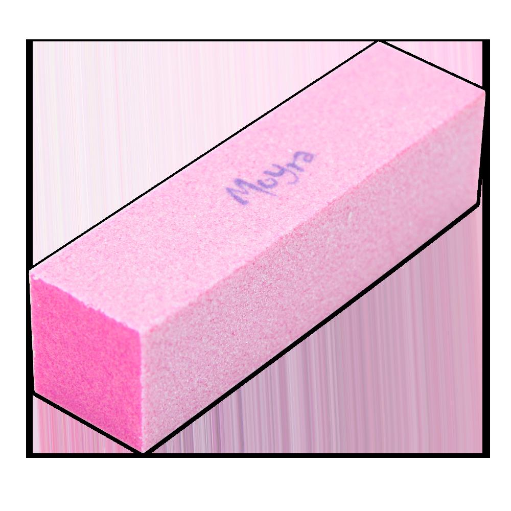 F33 ピンク色のブロックバッファー Pink Coloured Block Buffer