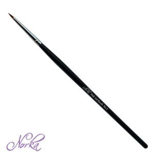 Norka ネイル アート ブラシ Nail Art Brush No. 1