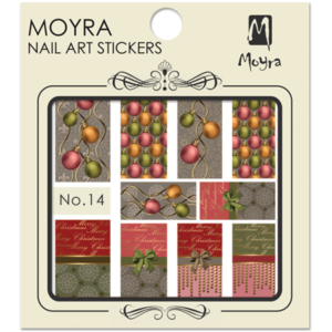 Moyraのネイル アート ウォーター ステッカー No. 14