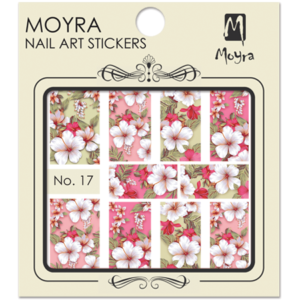 Moyraのネイル アート ウォーター ステッカー No. 17