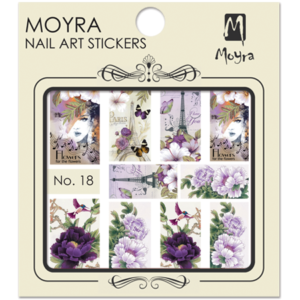 Moyraのネイル アート ウォーター ステッカー No. 18