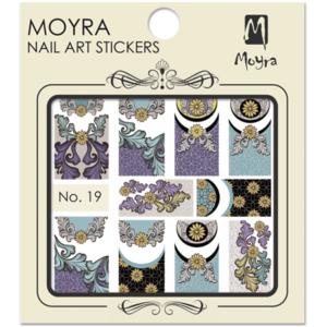 Moyraのネイル アート ウォーター ステッカー No. 19