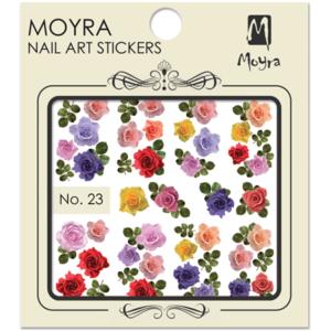Moyraのネイル アート ウォーター ステッカー No. 23
