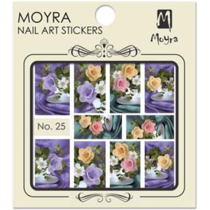 Moyraのネイル アート ウォーター ステッカー No. 25
