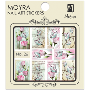 Moyraのネイル アート ウォーター ステッカー No. 26