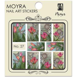 Moyraのネイル アート ウォーター ステッカー No. 27