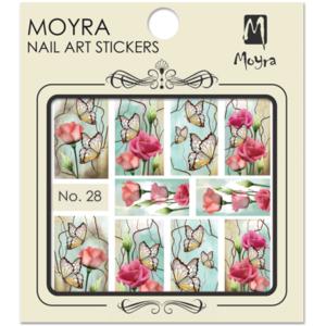 Moyraのネイル アート ウォーター ステッカー No. 28