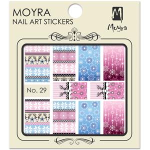 Moyraのネイル アート ウォーター ステッカー No. 29