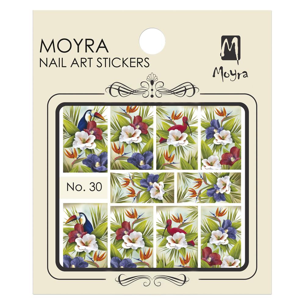 Moyraのネイル アート ウォーター ステッカー No. 30