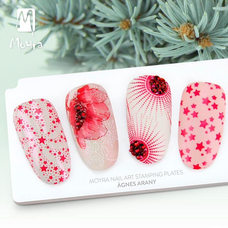 Moyra Japan nail art stamping