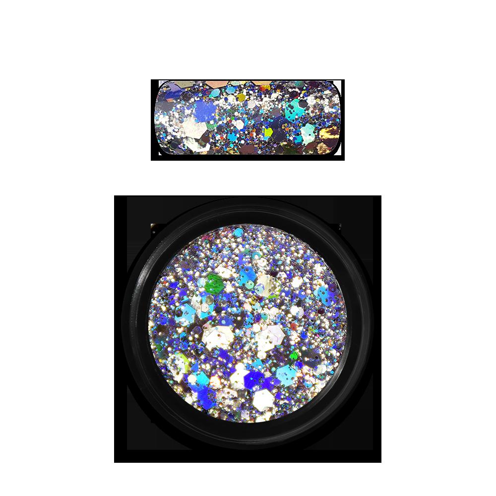 ホログラフィックグリッターミックス Holo Glitter Mix No. 01 Silver