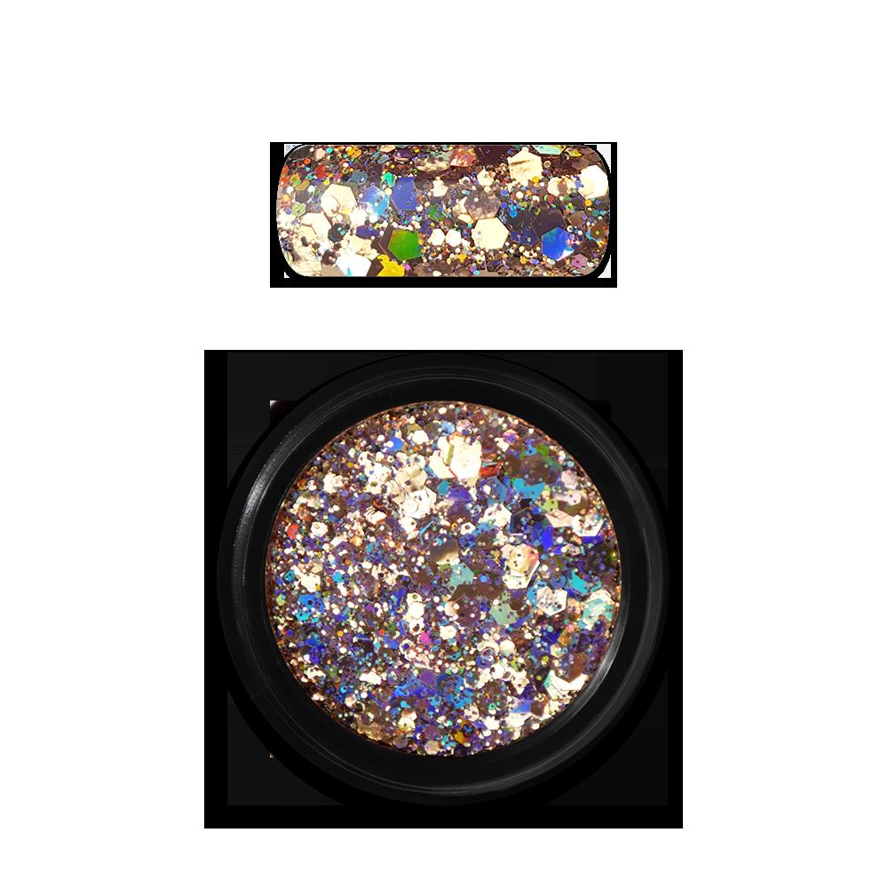 ホログラフィックグリッターミックス Holo Glitter Mix No. 02 Gold