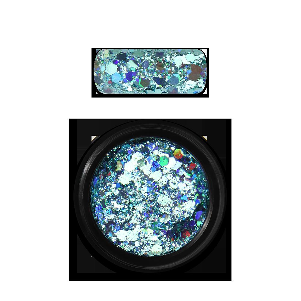 ホログラフィックグリッターミックス Holo Glitter Mix No. 04 Turquoise