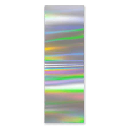 Easy トランスファーネイルフォイル Transfer Foil No. 04 Holographic silver