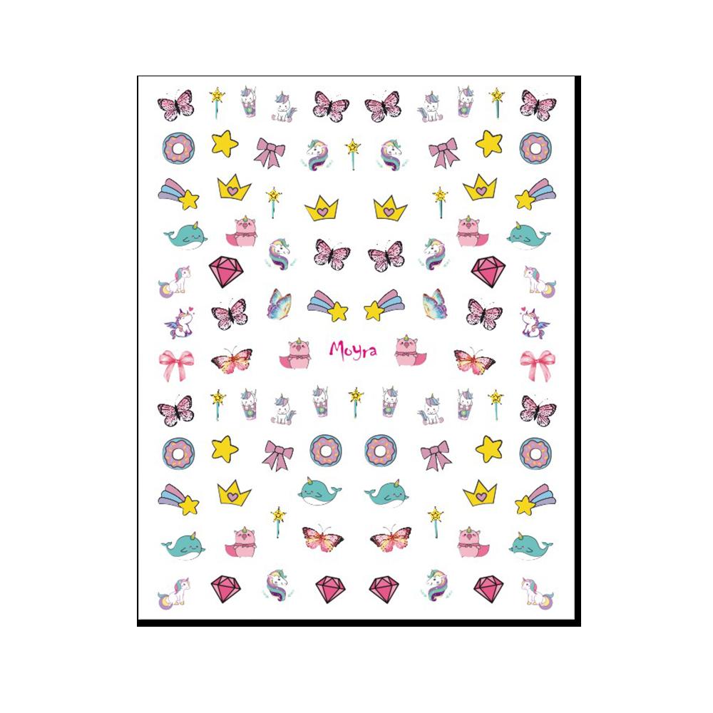 Moyra KIDS 粘着ネイルステッカー Nail stickers No. 01