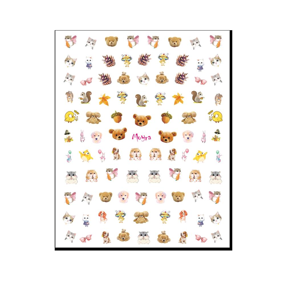 Moyra KIDS 粘着ネイルステッカー Nail stickers No. 02