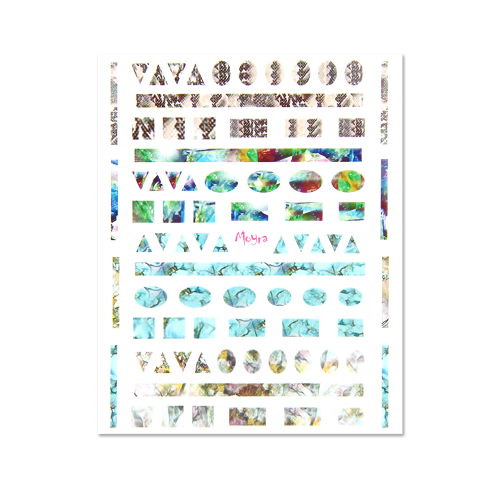 Moyra 粘着ネイルステッカー Nail stickers No. 05