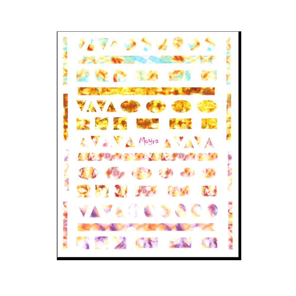 Moyra 粘着ネイルステッカー Nail stickers No. 06