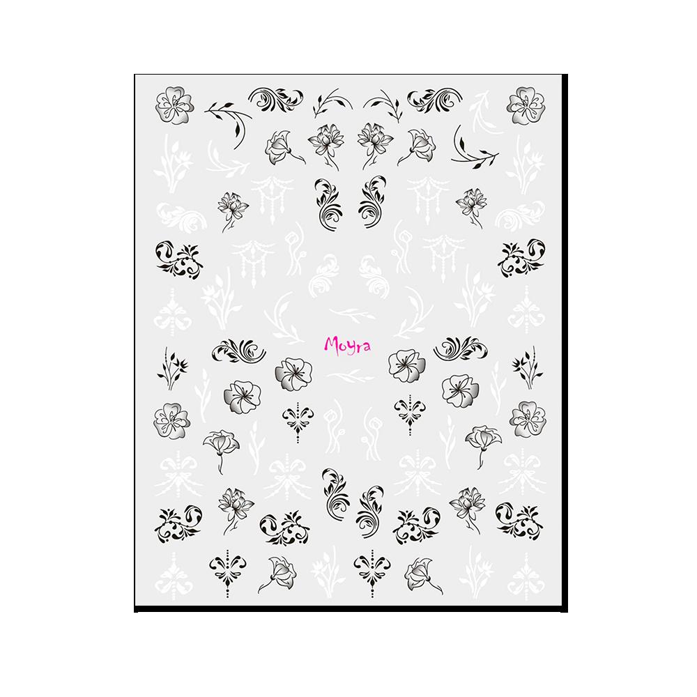 Moyra 粘着ネイルステッカー Nail stickers No. 13