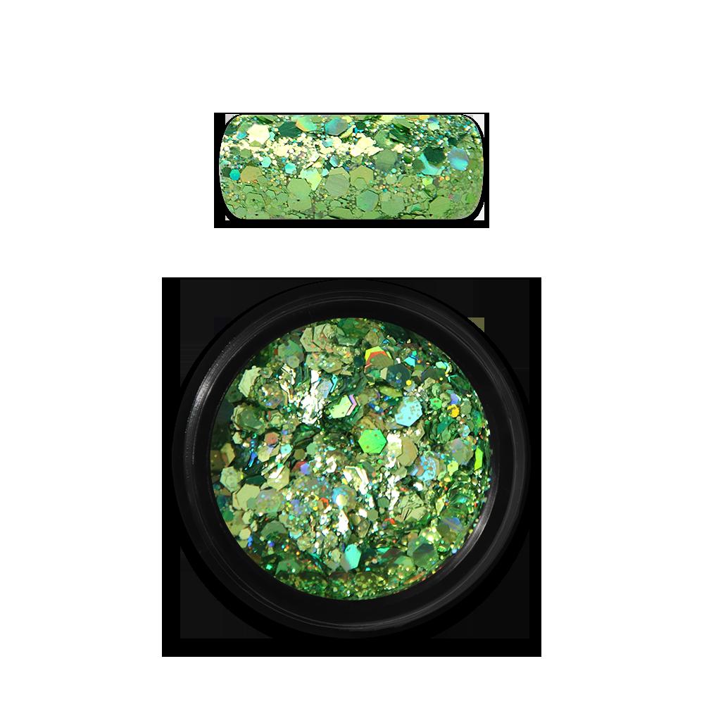 ホログラフィホログラフィックグリッターミックス Holo Glitter Mix No. 08 Green