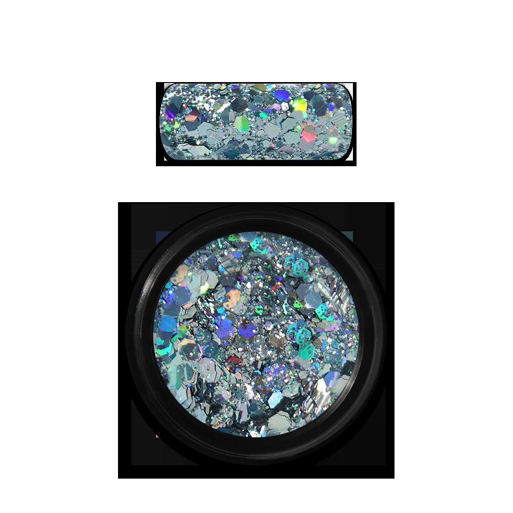 ホログラフィックグリッターミックス Holo Glitter Mix No. 09 Light Blue
