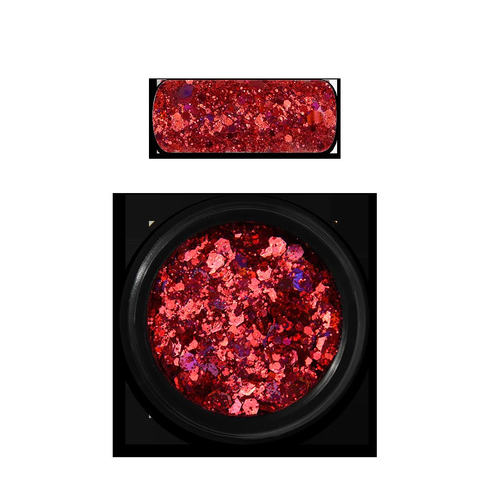 ホログラフィックグリッターミックス Holo Glitter Mix No. 11 Red