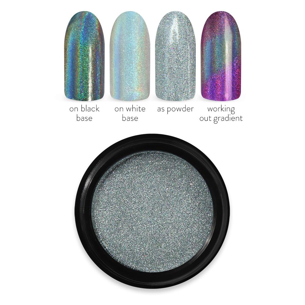 Moyra ホロミラーパウダー Holo mirror powder No. 01 Silver
