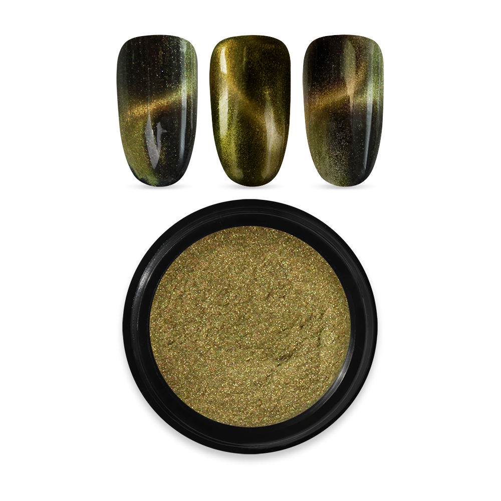 Moyra マグネチック 色素 パウダー Magnetic pigment powder No. 03 Gold