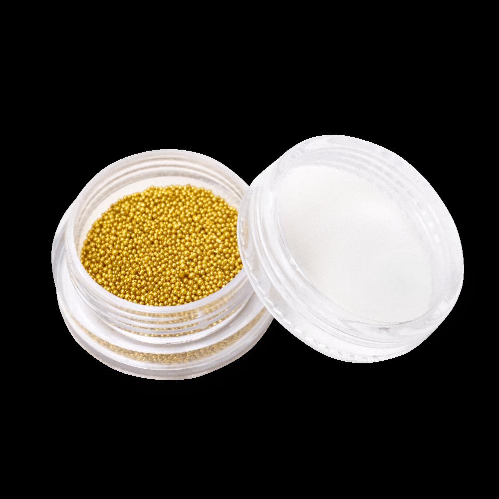 キャビアビーズ Caviar Beads 0,8 mm - No. 02 Silver