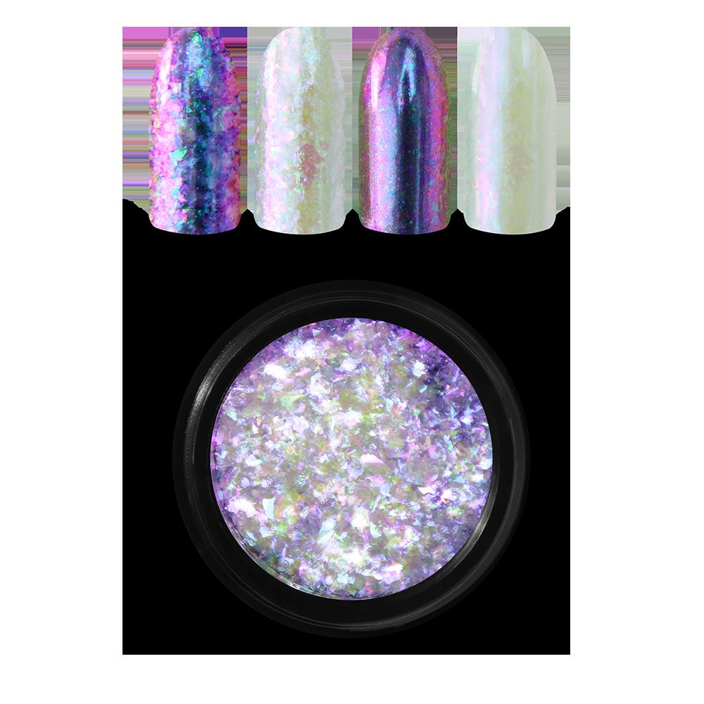 Moyra レインボーフレーク Rainbow flakes, Pink