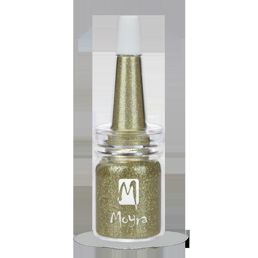 Moyra ボトルにグリッターパウダー Glitter powders in bottle No. 01