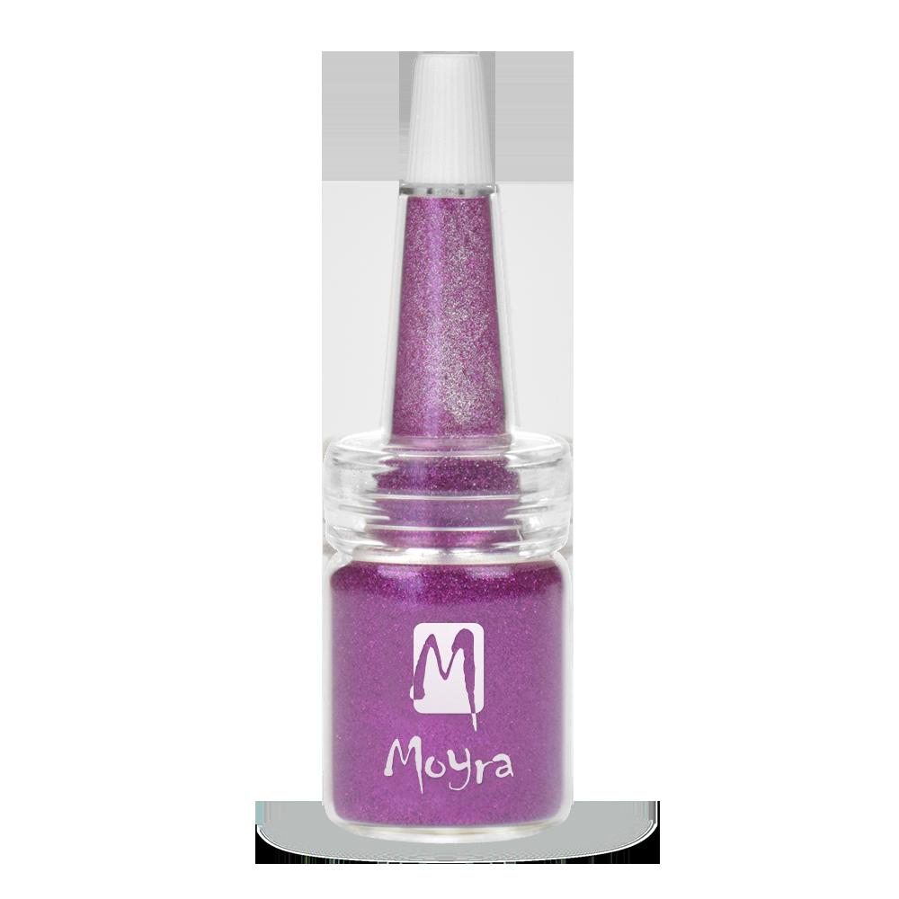 Moyra ボトルにグリッターパウダー Glitter powders in bottle No. 14