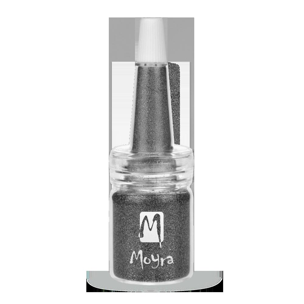 Moyra ボトルにグリッターパウダー Glitter powders in bottle No. 19
