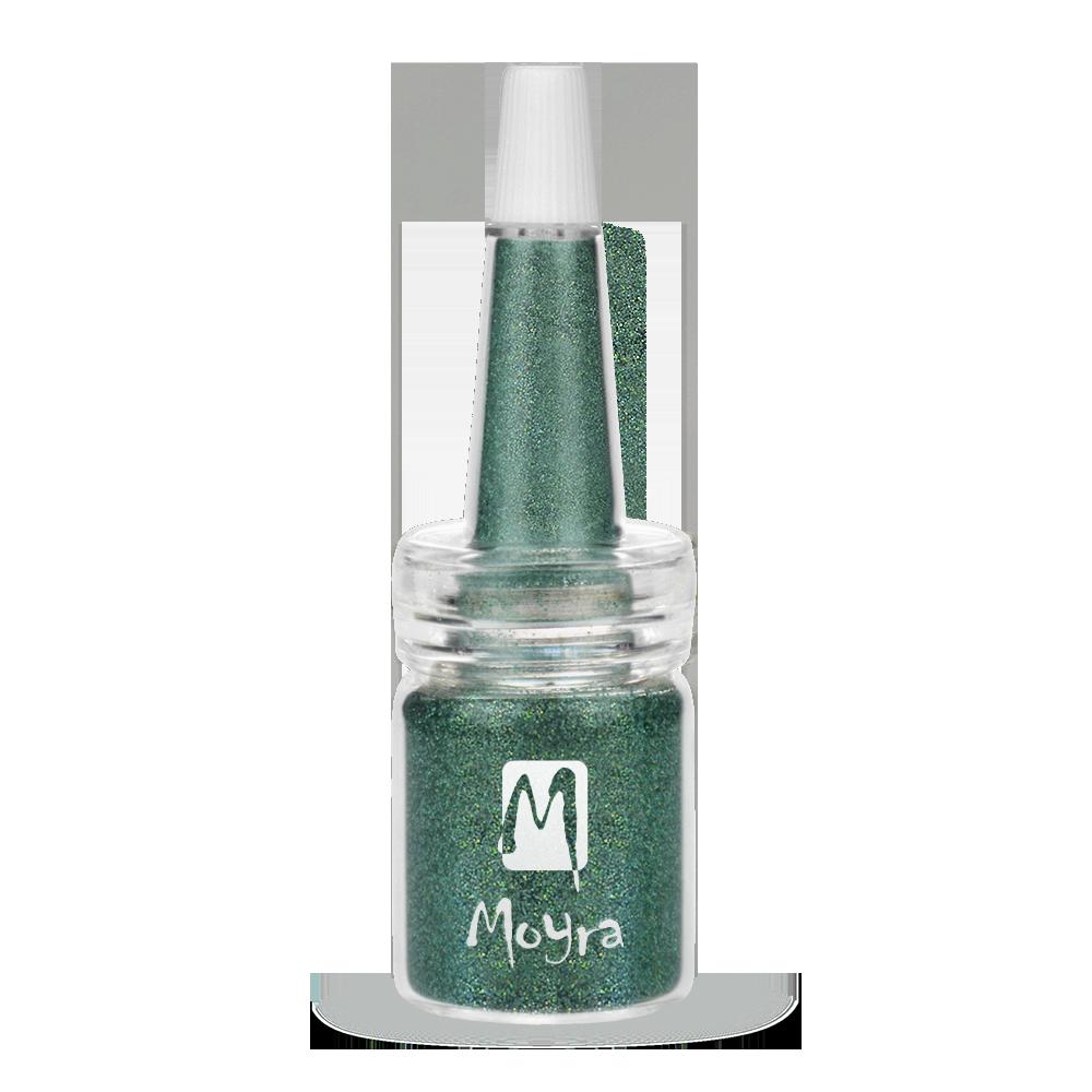 Moyra ボトルにマーメイドパウダー Glitter powders in bottle No. 10
