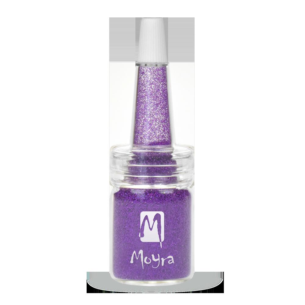 Moyra ボトルにグリッターパウダー Glitter powders in bottle No. 16