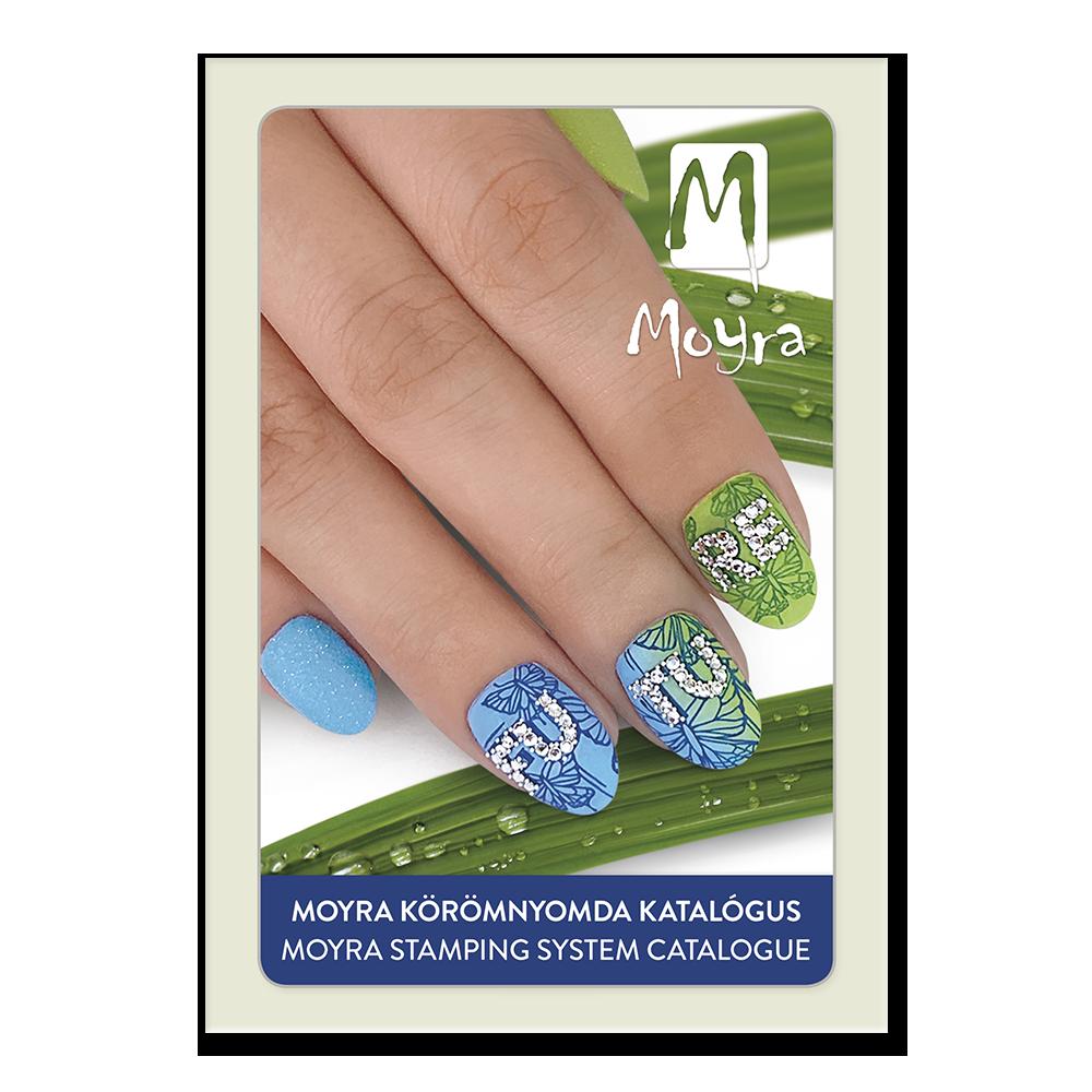 MOYRA ネイルスタンピングシステムカタログ Nail stamping system catalogue