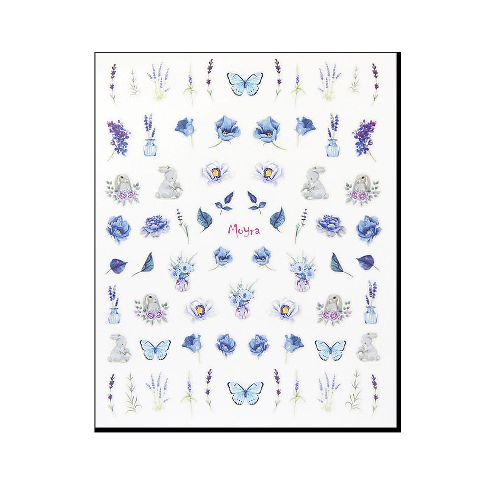 Moyra 粘着ネイルステッカー Nail stickers No. 16
