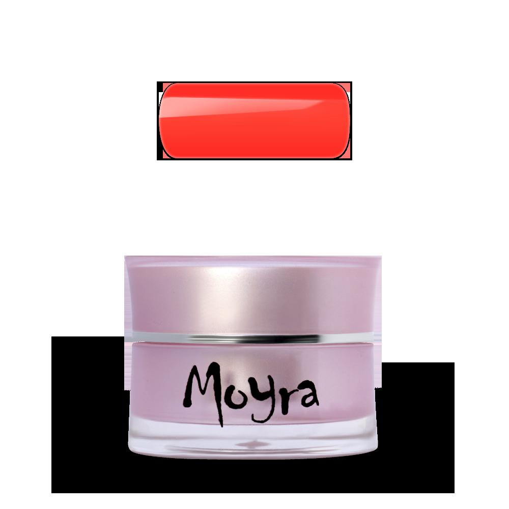 Moyra SuperShine カラージェル Colour Gel No. 610 Vivid Orange Red