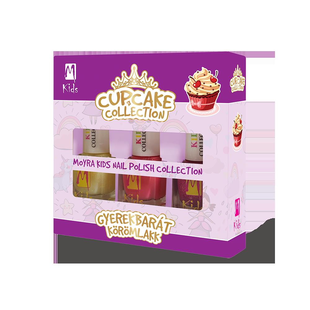 KIDS ネールポリッシュセットnail polish set Cupcake Collection