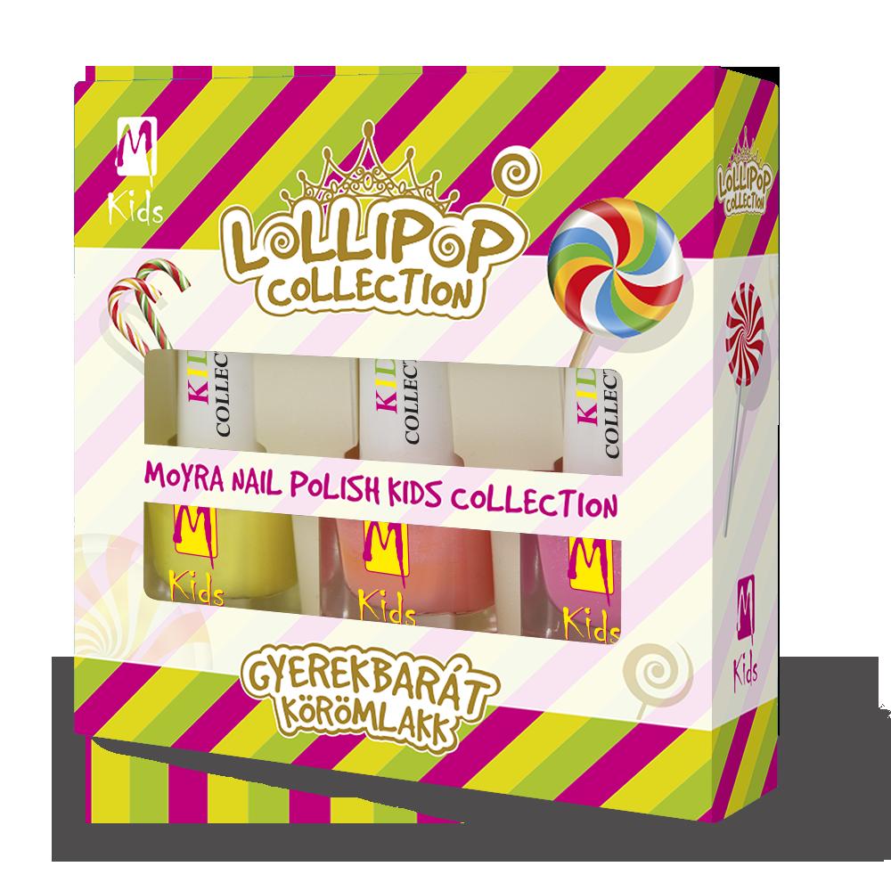 KIDS ネールポリッシュセットnail polish set Lollipop Collection