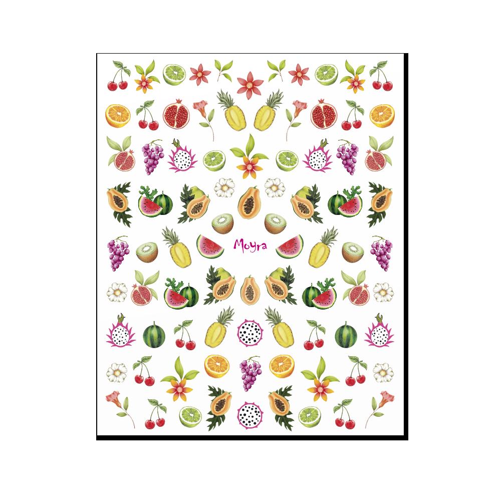 Moyra 粘着ネイルステッカー Nail stickers No. 18